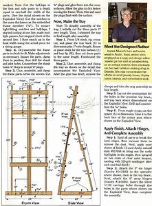 23 Fantastic Artist Easel Woodworking Plans egorlin com