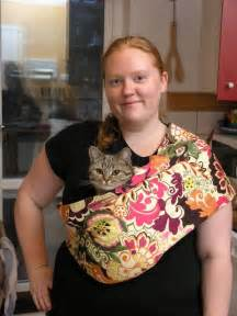 cat in baby carrier s food weekend cat blogging 20