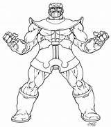 Thanos Coloring Pages Marvel Avenger Avengers Printable Returns Inked Lineart Ausmalbilder Comic Sheets Warlock Adam Venom Detailed Print Comics Deviantart sketch template
