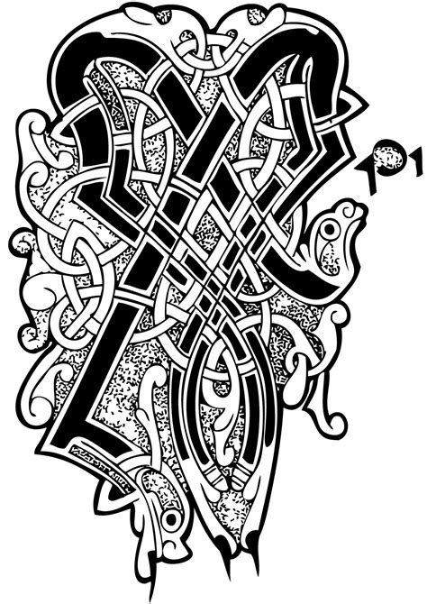 Pin Celtic Pictures Colouring Pages On Pinterest