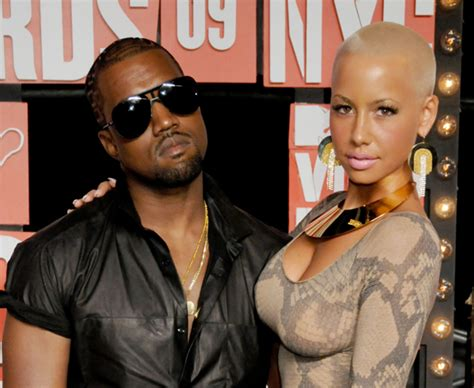 A History of Kanye West and Amber Rose's Relationship ...