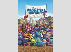 Monsters University movie posters at movie poster