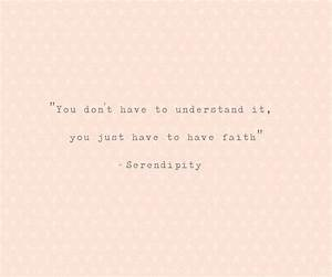 serendipity movie Quotes