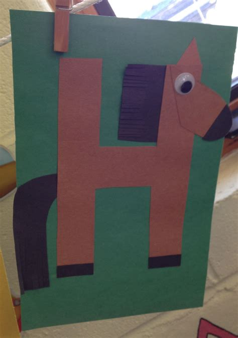 preschool letter h craft preschool letter crafts 930 | d178c3b896202a239ef92f70e663ead7