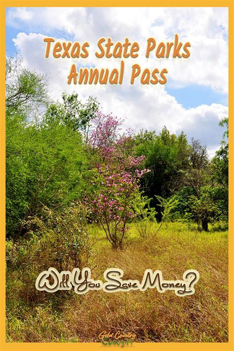 Looking for park areas & facilities in charleston county, sc? Will You Save Money with a Texas State Parks Pass?   Gold ...