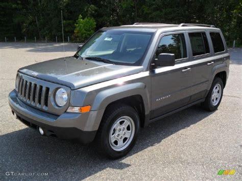 jeep grey 2011 mineral gray metallic jeep patriot sport 53410342
