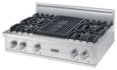 Viking Downdraft Cooktop by Viking 36 Quot Pro Style Gas Rangetop Stainless Steel
