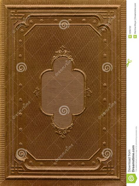 antique book cover stock photo image  design front