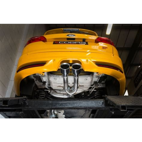 Ford Performance Exhaust Focus St by Ford Focus St Tdci 5 Door Estate Wagon 185ps Rear