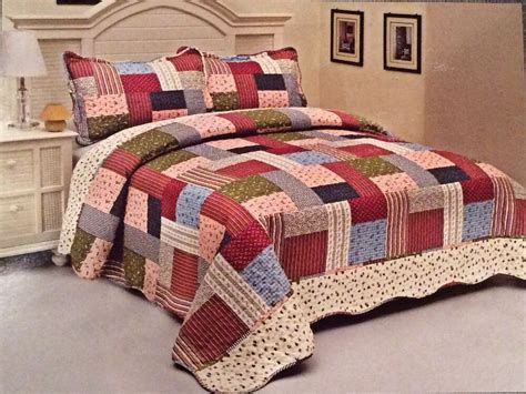 Bedroom Coverlets by Roses Bedding Quilt Bedspread Coverlet 3 Pc
