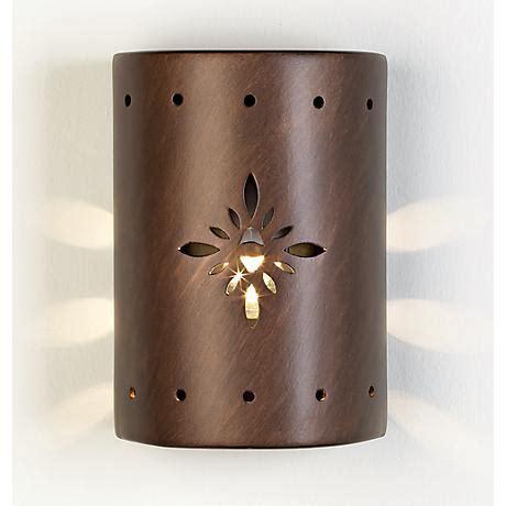 ceramic pattern outdoor wall light 52670