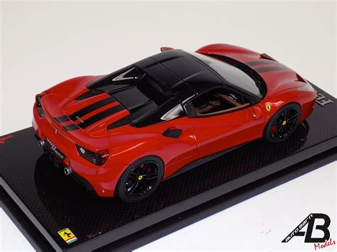 Over 2 users have reviewed 488 spider on basis of features, mileage, seating. 1:18 MR Collection Ferrari 488 GTB Spider Hard Top Metallic Red Black Stripe