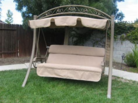 canapé swing costco garden swing seat replacements discount canopy