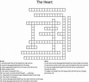 The Heart Crossword