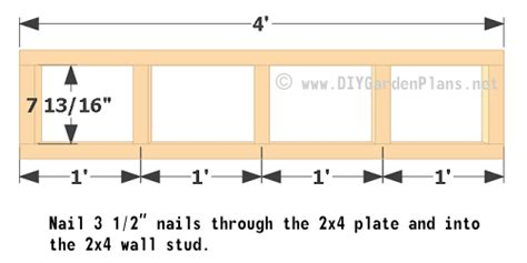 10x10 Shed Plans Pdf by Chicken Coop Plans Wall Framing