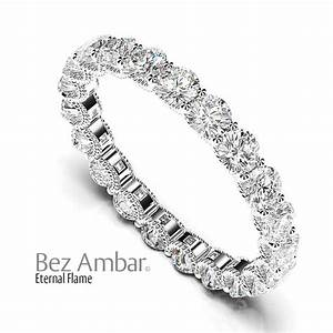 Cable Wedding Band With Large Diamonds