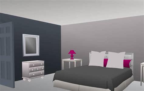 chambre grise et chambre grise carnet déco