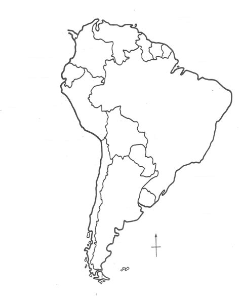 Blank South America Map High Quality Google Search