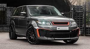 Side Scoops By Air Design Range Rover Sport Svr Gets Wild Upgrades From Kahn Design