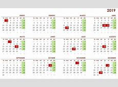 Calendario laboral 2019 en Galicia Vigopeques
