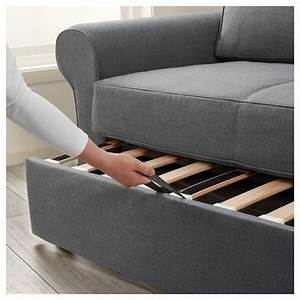 Seats Sofas : backabro two seat sofa bed nordvalla dark grey ikea ~ Eleganceandgraceweddings.com Haus und Dekorationen