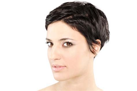 Pixie Cut Thick Wavy Hair Hairstylestars Short Haircuts Curly Updos For Long Hair Short Choppy Hairstyles With Side Bangs Easy Sock Bun Thick Old Hollywood Glamour Accessories How To Get Beachy Waves Out Of Dark Blonde Highlights Dye Turned My Gray Naturally Straight