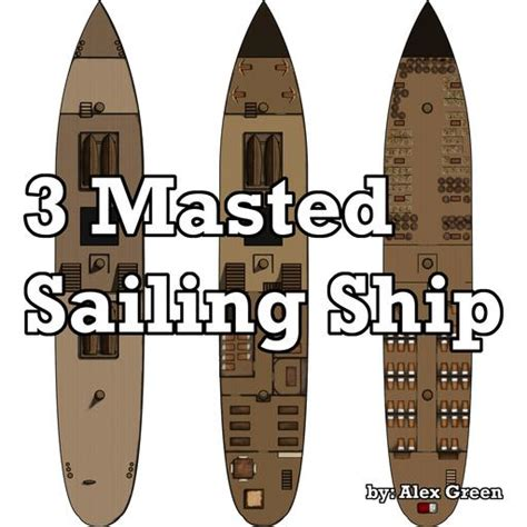 Token Template Roll20 by 3 Mast Ship Roll20 Marketplace Digital Goods For Online