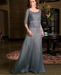 elegant grey lace grandmother of the bride dresses with With wedding dresses for grandmother of the bride