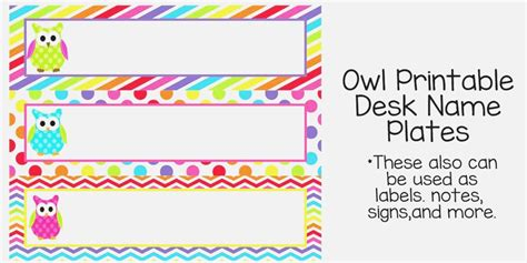 Office Desk Name Tag Template by 38 Mesmerizing Cubicle Name Plates Printable Ripp