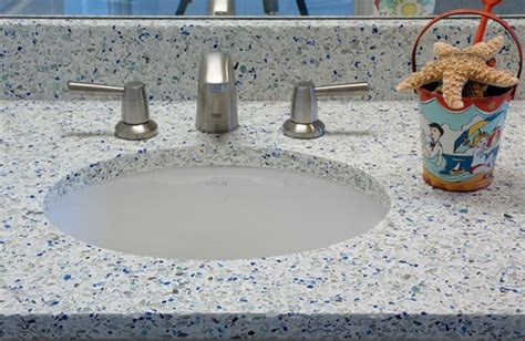Recycled Glass Bathroom Countertops by 17 Best Images About Bathroom Countertops On