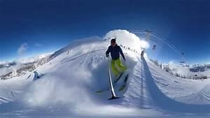 360 Vr Skiing - Revelstoke Bc  Canada
