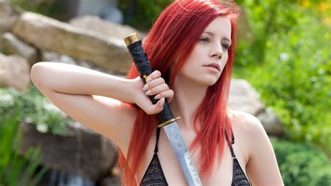 Download Photo X Redhaired Lingerie Blade Ariel Redhead Outdoor Ariel Pipeerfawn