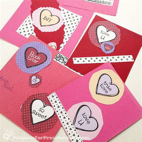 7 Best Images Of Own Valentine's Day Cards Printable