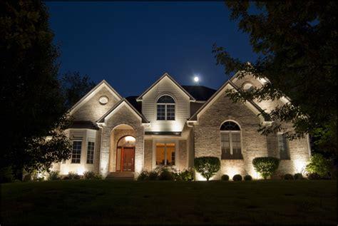 Home Interior Uplighting : Inspiring Exterior Uplighting #5 Landscape Wall Wash