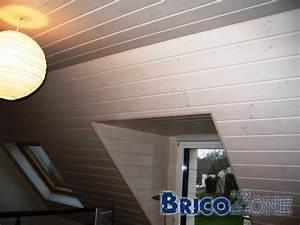 peindre un plafond en lambris systembaseco With peindre un plafond en lambris