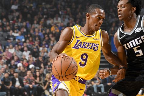 Lakers News: Rajon Rondo to Miss 4-5 Weeks After Surgery ...
