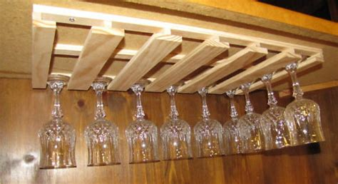 Under Cabinet Wood Wine Rack Nagpurentrepreneurs