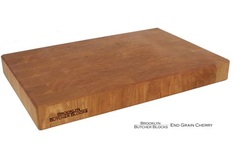 End Grain Cherry Butcher Block  Brooklyn Butcher Blocks (llc
