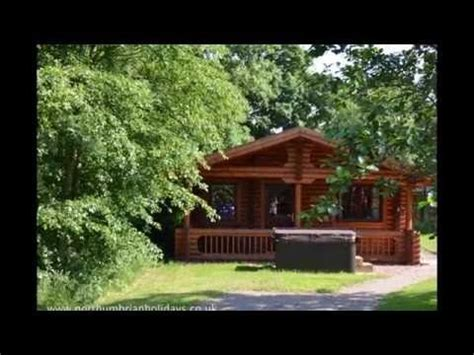 Log Cabins In Northumberland With Tub - woodside is a fabulous log cabin on felmoor park in
