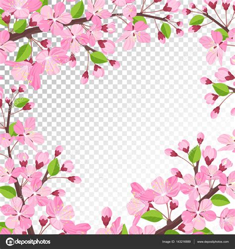foto de fundo flor cereja Vetor de Stock © teirin toys #143216889