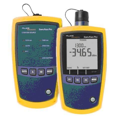 power meter light source test fluke ftk1000 multimode fibre optic light source and meter