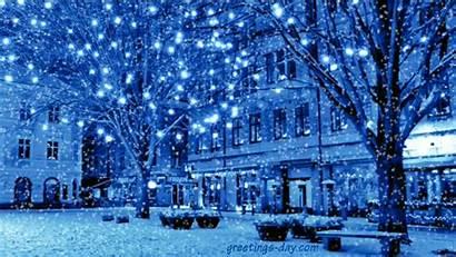 Christmas Gifs Animated Greetings Lights Merry Happy