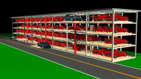 Automatic Parking System / Car Stacker