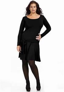 Robe noire grande taille tous mes conseils pour la choisir for Robe noire grande taille