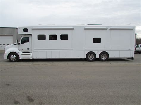 Motorhome With Garage by Motorhome Garage Showhauler Motorhome Conversions