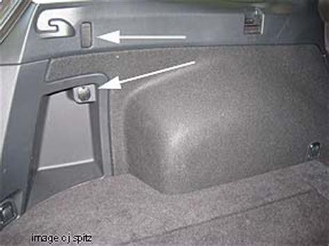 trunk tie  points  replacements subaru