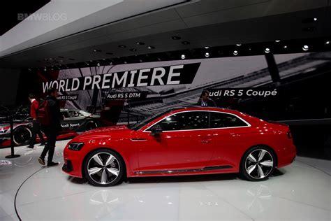 audi rs5 2017 preis 2017 geneva motor show audi rs5 coupe debuts to take on bmw m4