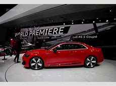 2017 Geneva Motor Show Audi RS5 Coupe debuts to take on