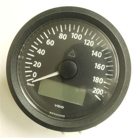 "Slspeed Fahrzeugteile  VDO ""Viewline"" Tachometer Tacho"