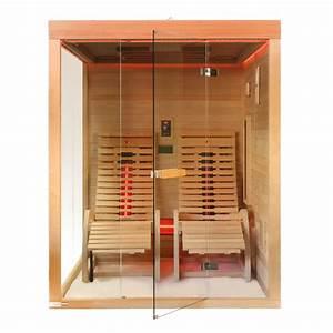 Sauna Für 2 Personen : infrarotkabine sauna zanier lounger g nstig kaufen bei fitstore24 ~ Orissabook.com Haus und Dekorationen